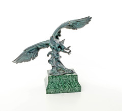 Producten getagd met bronze eagle sculptures