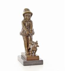 Producten getagd met bronze children sculptures