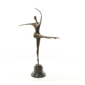 Een Modernistisch danseres