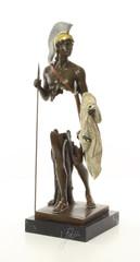 Mythological bronze sculptures