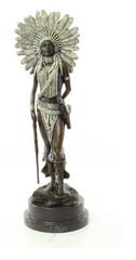 Producten getagd met american indian sculptures