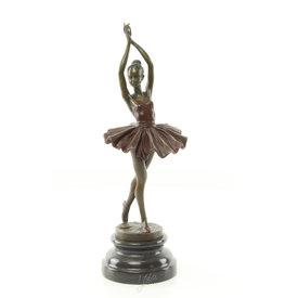 Een jong ballerina