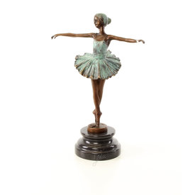 Cold-painted Ballerina