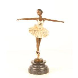 Dansende ballerina in tutu