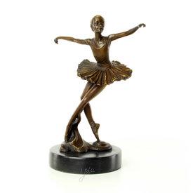 Een jong ballet danser