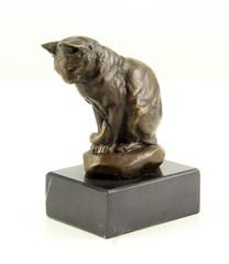 Producten getagd met bronze cat sculpture