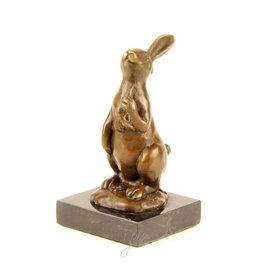 Rabbit holding a carrot