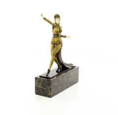 Producten getagd met bronze caucasian dancer figurine
