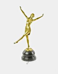 Producten getagd met art deco style dance sculptures