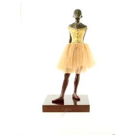 "Sculpture called  ""A little dancer aged fourteen"""