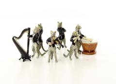 Producten getagd met bronze cat sculptures