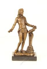 Classical bronze sculptures