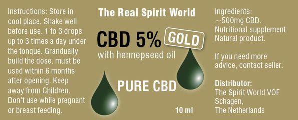 CBD 5% Gold