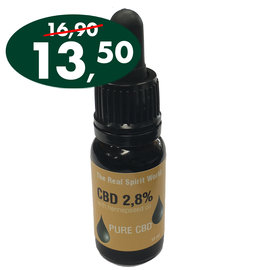The Real Spirit World 10ml CBD olie 2,8%