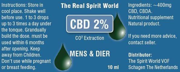 CBD 2 procent