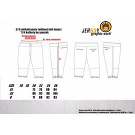Jersey53 Softball pants