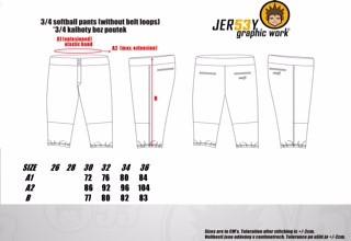 Jersey53 Softball pants