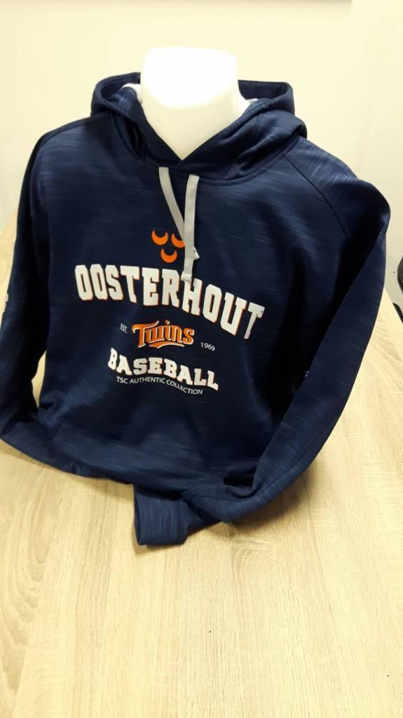 Majestic Oosterhout Twins hooded tech fleece