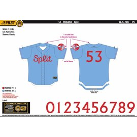 Jersey53 Nada SM Split game jersey - away