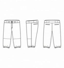 Jersey53 Baseball Pant - 3/4 Knickers - Purple Piping