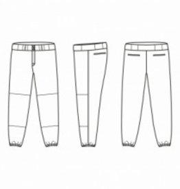 Jersey53 Baseball Pant - regular - Purple Piping