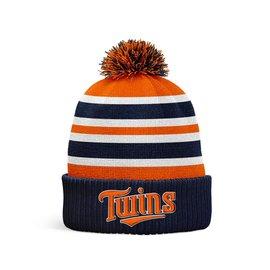 Score66 Baseball Twins knit hat