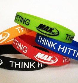 MaxBat Think Hitting Bracelets