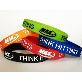 MaxBat Think Hitting Bracelets