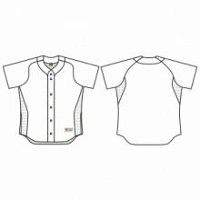 Jersey53 Baseball Jersey - Allstar Full Button