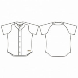 Jersey53 Baseball Jersey - Raglan Full Button
