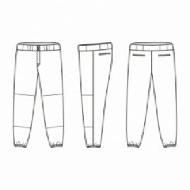 Jersey53 Baseball Pant - regular