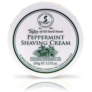 Taylor of Old Bond Street Scheercrème Peppermint 150g