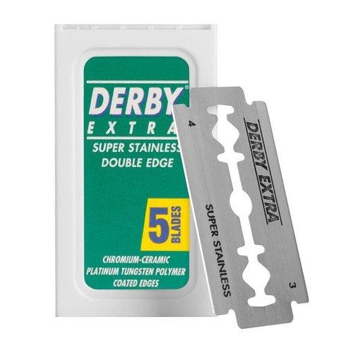 Derby Double Edge Scheermesjes 5 stuks