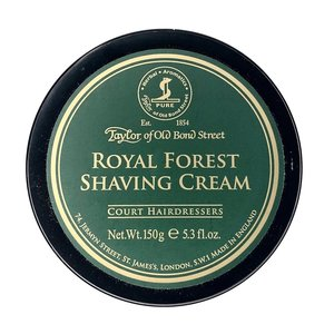 Taylor of Old Bond Street Scheercrème Royal Forest 150g