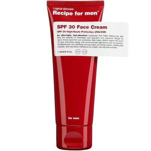 Recipe for men SPF 15 Facial Moisturizer 75 ml