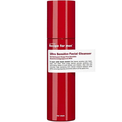 Recipe for men Ultra Sensitive Facial Cleanser 100 ml