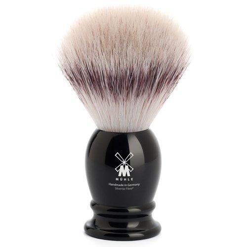 Muhle Scheerkwast Silvertip Fibre Classic Zwart (M)