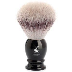 Muhle Scheerkwast Silvertip Fibre Classic Zwart (L)