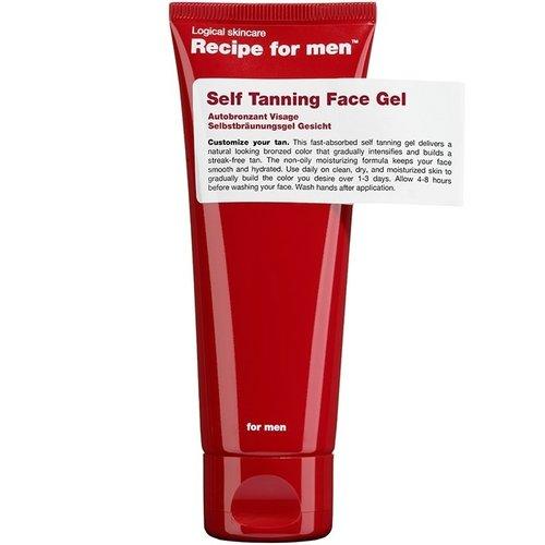 Recipe for men Self Tanning Face Gel 75 ml