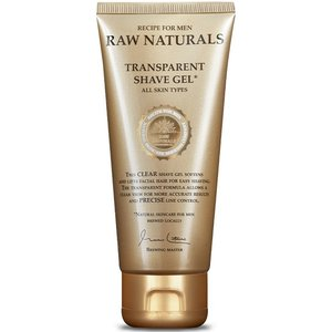 RAW Naturals Transparent Shave Gel 100 ml