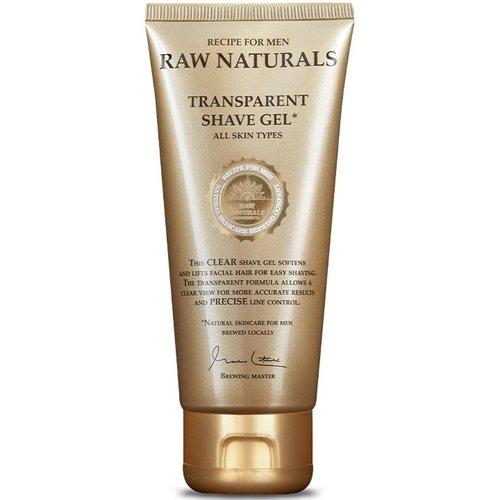 RAW Naturals Transparent Shave Gel 100 ml