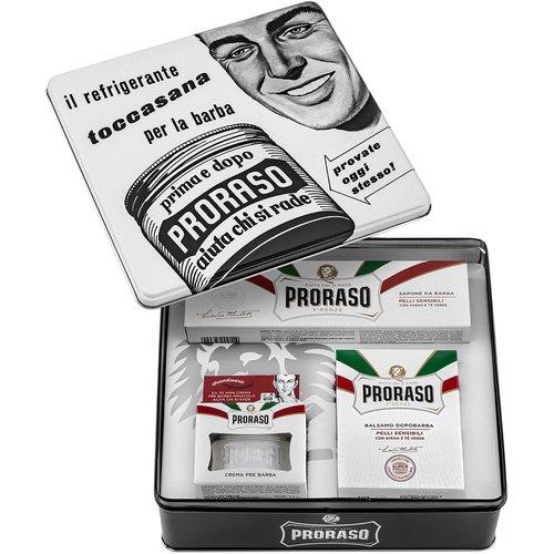 Proraso Vintage Tin White Sensitive