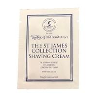 Scheercrème St James Collection Sample 5 ml