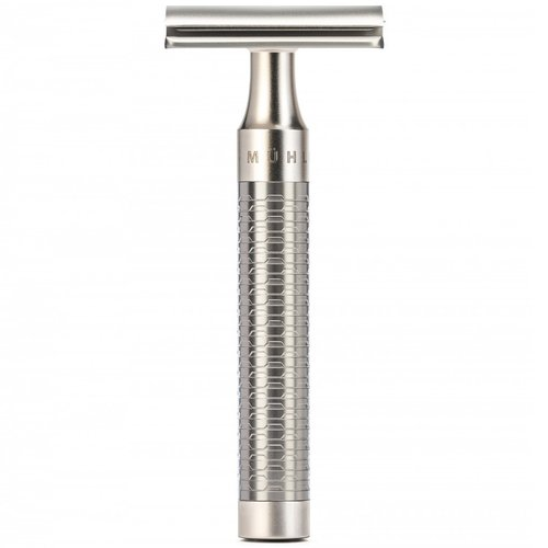Muhle Double Edge Safety Razor Rocca Mat RVS