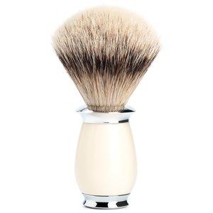 Muhle Scheerkwast Silvertip Purist Ivoor (M)