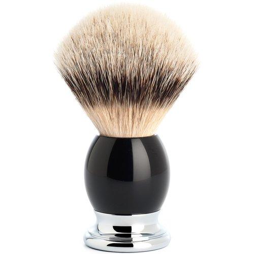 Muhle Scheerkwast Silvertip Sophist Zwart (L)