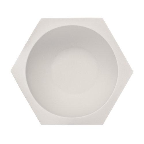 Muhle Scheerkom Hexagon Wit