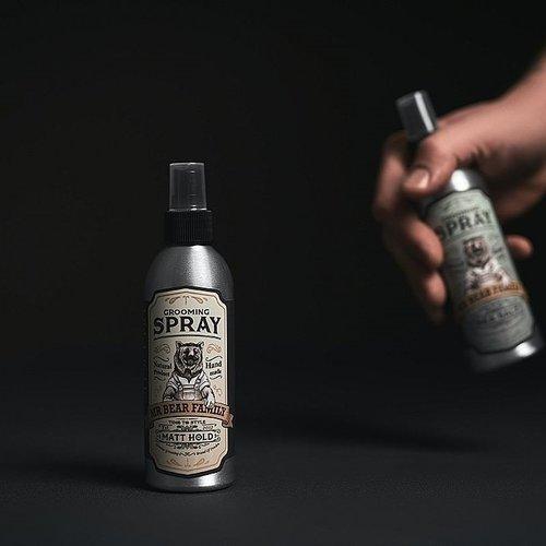 Mr Bear Family Grooming Spray Matt Hold 200 ml