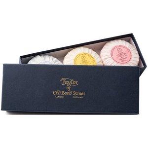 Taylor of Old Bond Street Handzeep Gift Box 3 x 100g
