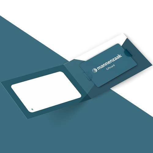 Mannenzaak Giftcard €100